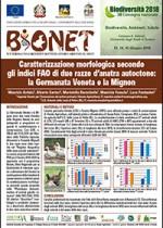 Caratterizzazione morfologica secondo gli indici FAO di due razze d'anatra autoctone: la Germanata Veneta e la Mignon