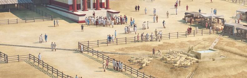 Il mercato delle pecore nel II° secolo d.C.